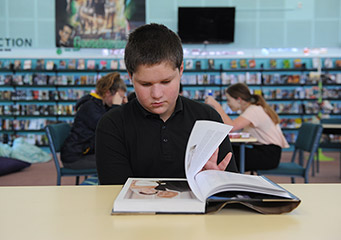 Dargaville High School well resourced library