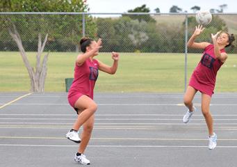 Dargaville High School Floodlit netball court