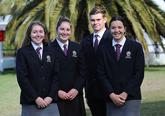 Dargaville High School Head Boy in Science Lab